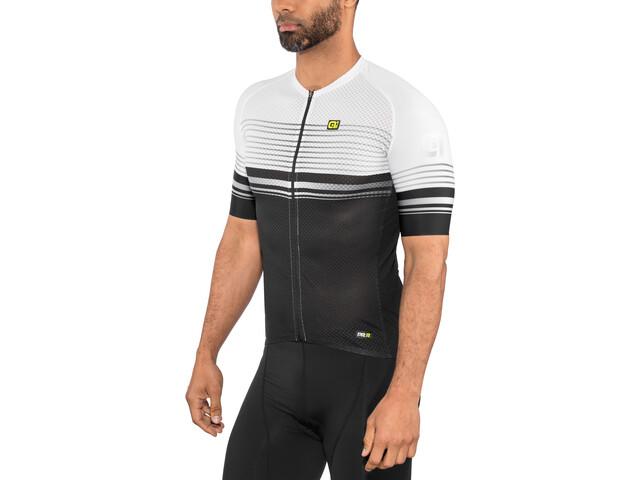 Alé Cycling Graphics PRR Slide Maillot manches courtes Homme, black-white